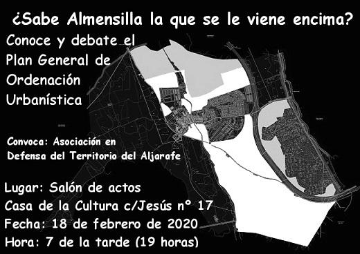 Celebrado el debate sobre el PGOU de Almensilla