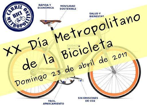 XX DIA METROPOLITANO DE LA BICI (2017)