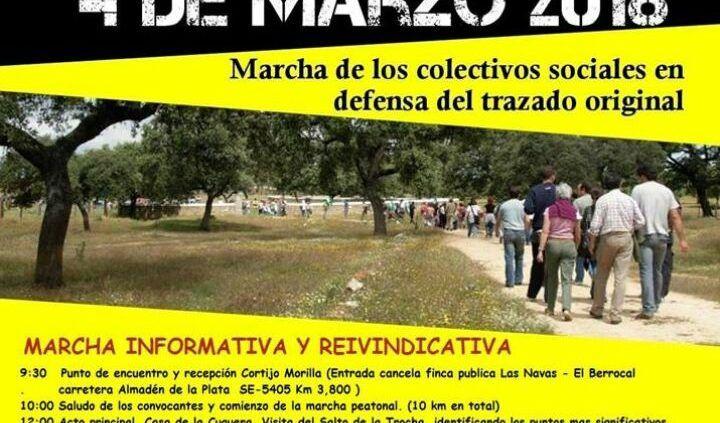 4 de marzo CONOCE EL SALTO DE LA TROCHA. Marcha informativa
