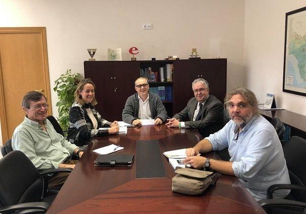 Reunión para desbloquear la gestión del parque del Riopudio, que sigue pendiente