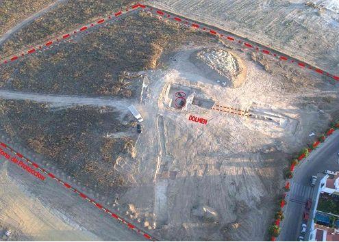 GUZMÁN Y MONTELIRIO, una propuesta de protección del sector urbanístico PP-4 donde se encuentra el Dolmen Montelirio