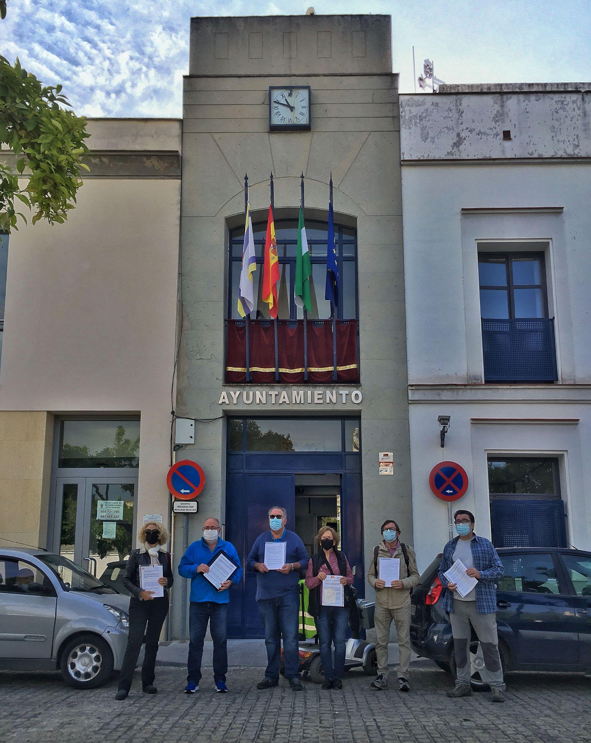 ADTA coincide con otras cuatro asociaciones y un particular rechazando el proyecto de centro de visitantes presentado por el Ayuntamiento de Valencina