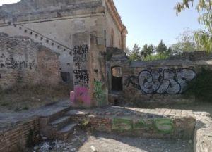 El molino de San Juan de teatinos, cada vez más deteriorado.